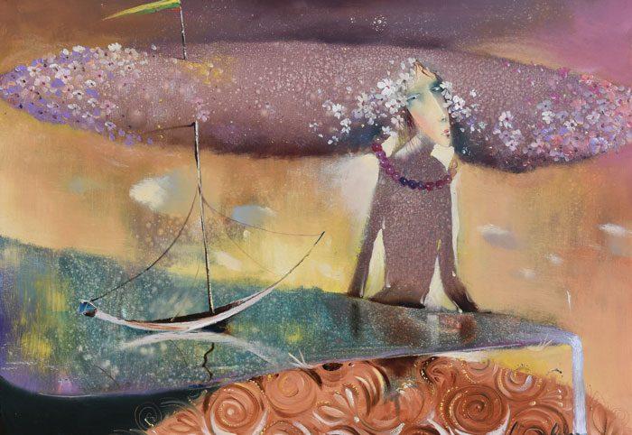 Venslausko paveikslas Krantai
