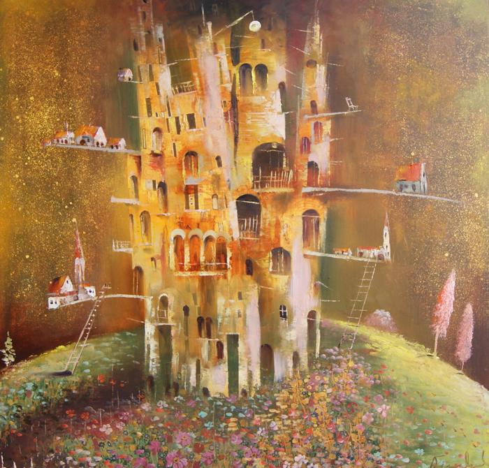 venslausko paveikslas pilis