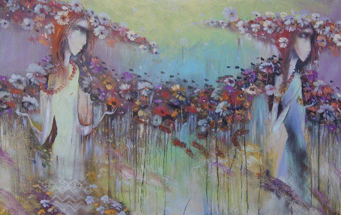 Venslausko paveikslas Pievų gėlės