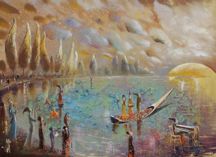venslausko paveikslas aušta